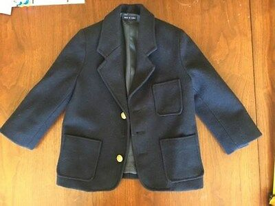 GAP little boys blue blazer / suit coat size Size XS -- 3 to 4 years?