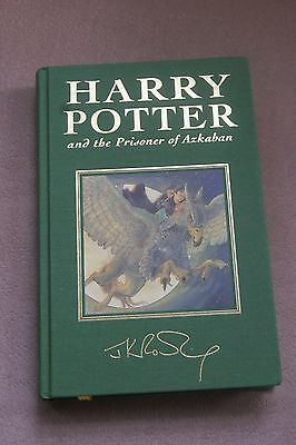 Harry Potter and the Prisoner of Azkaban UK Deluxe 1st edition 7th print NEW
