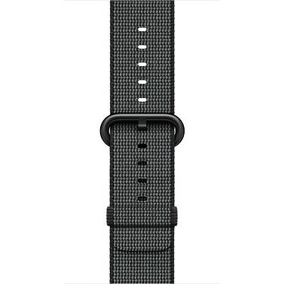Apple - Woven Nylon for Apple Watch 42mm - Black MM9Y2AM/A ***FREE SHIPPING***