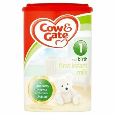 Cow & Gate 1 From Birth First Infant Milk 900g 1 2 3 6 Packs