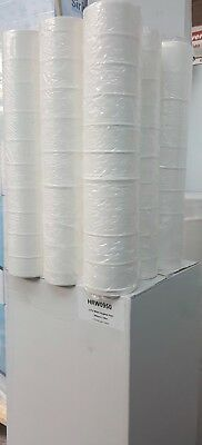 "9 Rolls White 20"" Hygiene Couch Roll Bed Rolls 2PLY 40M Perforated Salon Dental"