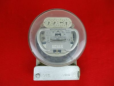 Vintage WESTINGHOUSE Electric METER Type CA 15 Amp 120 Volts Two Wire 60