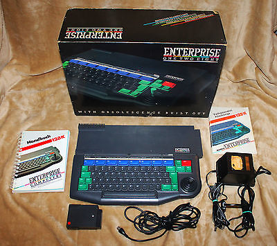 VERY RARE Enterprise 128 home computer BOXED