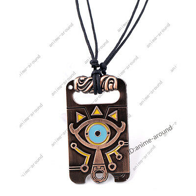 The Legend of Zelda Sheikah Slate Necklace Breath of the Wild Pendant Cosplay