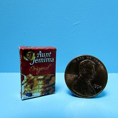Dollhouse Miniature Replica Box of Black Pepper for Kitchen Cabinet ~ FA41837