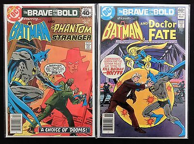 BRAVE AND THE BOLD Lot of 2 DC Comic Books - #145 156 - Batman! • $7.99
