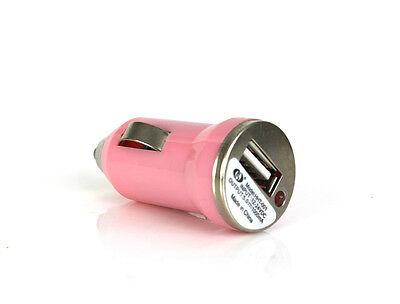 5V 500mA Travel Juice Bank USB in-Car Charger Smartphone Ciggarette Universal