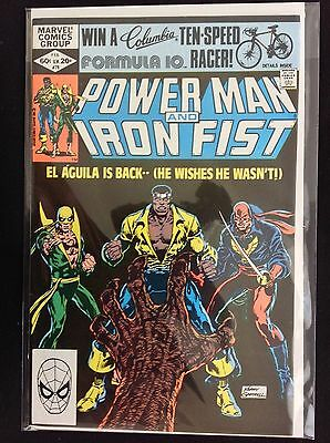 POWER MAN AND IRON FIST #78 Lot of 1 Marvel Comic Book - 3rd Sabretooth!