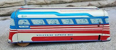 Wolverine Express Bus-1950s