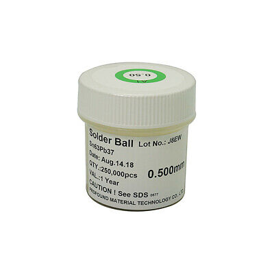 25K Pcs 0.20mm Diameter Bga Reballing Soldering Iron Leaded Solder Balls CWIC