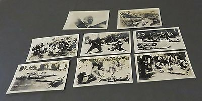 Lot of 8 Antique Chinese Revolution Beheading and Execution Album Photos