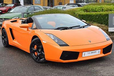 2007 Lamborghini Gallardo V10 SPYDER Petrol orange Automatic