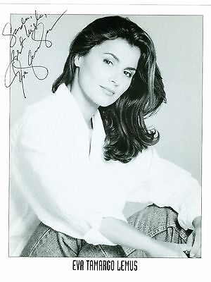 Eva Tamargo Lemus autographed signed photo Passions The Have and Have Nots