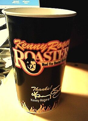 KENNY ROGERS 'ROASTERS' Paper Cup - Mint - 1995