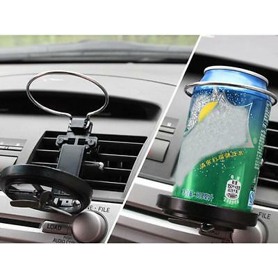 Universal Car Air-Outlet Folding Cup Bottle Drink Holder With Fan For Auto YY