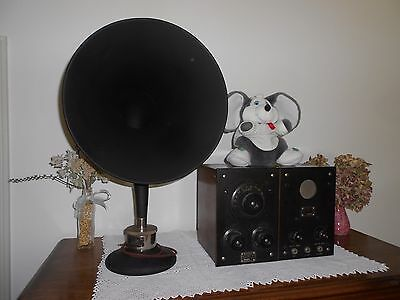 """Rare Antique 1922 Westinghouse Battery Radio for """"Amature experemental use only"""""""