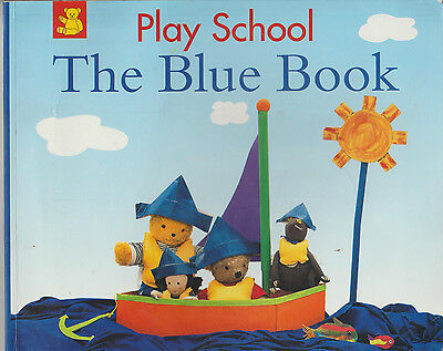 Play School THE BLUE BOOK Children's Picture Book - Combine Postage