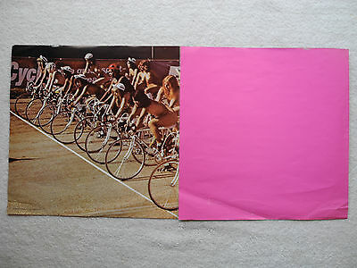 """QUEEN - """"Jazz"""" - 1978 ORIG US POSTER ONLY - NUDE BICYCLISTS - (12""""x36"""")"""