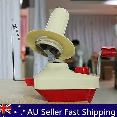 Hand Operated Knitting Yarn Winder Fiber Wool String Thread Skein Ball Holder