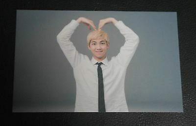 BTS Fan Meeting 3rd Muster ARMY Booth Heart PhotoCard Rap Monster