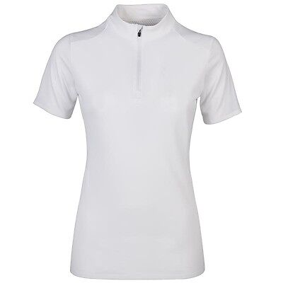 Equiline Briony Polo Shirt White Large