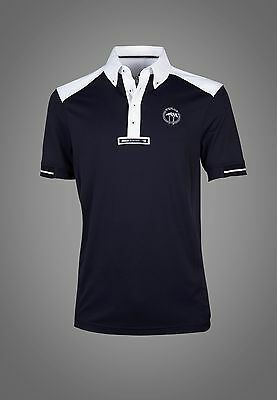 Equiline Vince polo shirt Navy Large