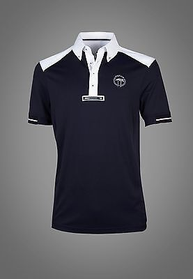 Equiline Vince polo shirt Navy Medium