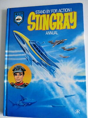Gerry Anderson Book - Stingray Annual 1994 - Colour Strips And Stories