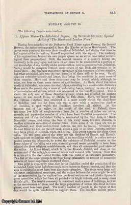 SECOND ANGLO-AFGHAN WAR. An interesting collection of 7 original articles publis