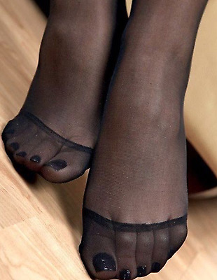 Calze collant usate colore Nero. Black color. Work Tights. Pantyhose used
