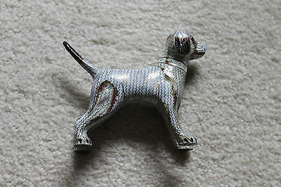 "Very Neat Antique/vintage Chinese enamel dog  - 6""W x 4-1/2""H"