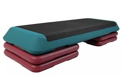 Exercise Step Bench 4 Risers