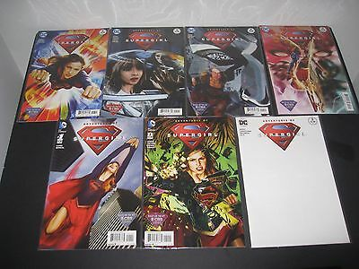 Cbs Adventures Of Super Girl Dc Comic Book Collection #1 +  Lot Of 7 Comics