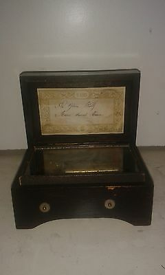 Music Box Antique