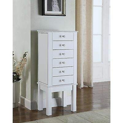 HIVES AND Honey Meg White Jewelry Armoire 12899 PicClick