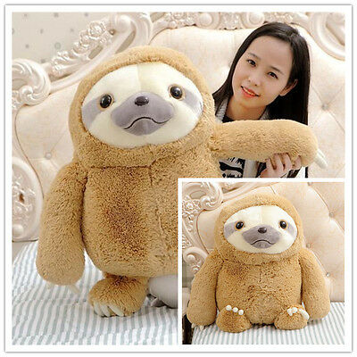 Hot Soft PP cotton Cute Sloth Plush Doll Stuffed Animal Toy girl's hold pillow