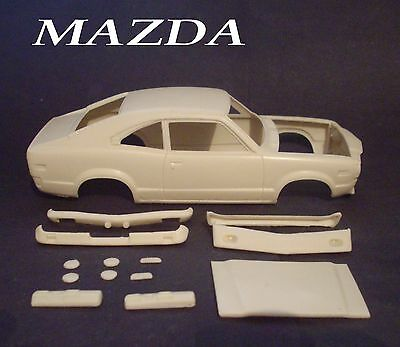 Resin  Mazda  2  Door   Resin  Body 1/24 1/25  Scale