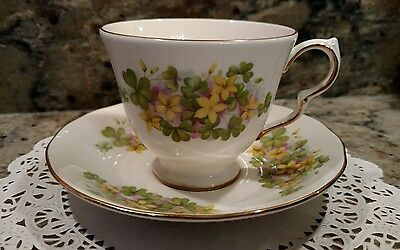 Queen Anne Bone China Tea Cup & Saucer Set Made In England