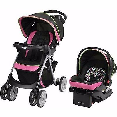 Travel Stroller Baby System Seat Car Comfy New