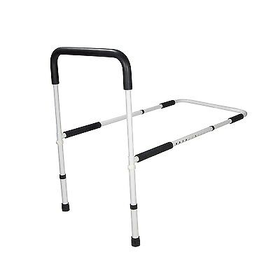 Drive Medical Adjustable Height Home Bed Assist Handle White