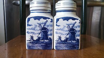 ANTIQUE Porcelain TEA Caddies - Apothecary Jars - Humidor - Canister - DELFTS
