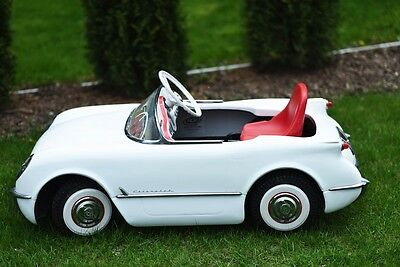 2003 CHEVY CORVETTE PEDAL CAR - 50th ANNIVERSARY - 1953 MODEL - ONLY 600 MADE