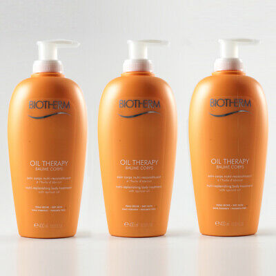 Biotherm Oil Therapy - Baume Corps 400ml - 3x