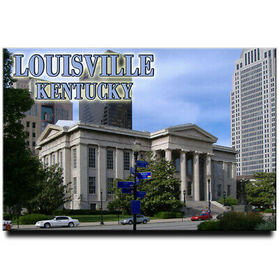 Louisville fridge magnet Kentucky travel souvenir