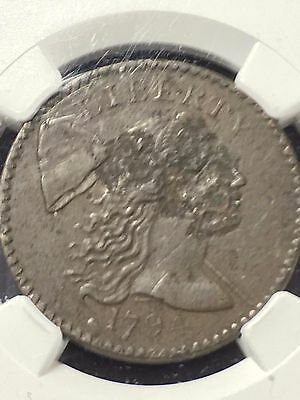 1794 Large Cent NGC certified XF details