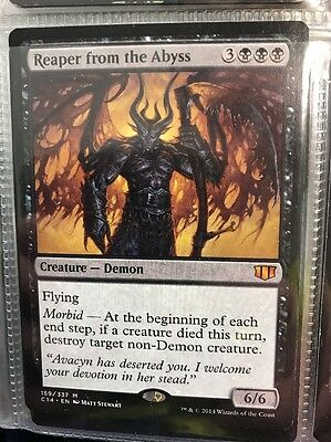 Reaper From The Abyss Magic The Gathering Rare Free Shipping.