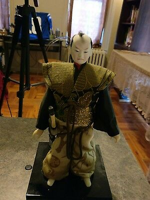 Samurai warrior And Forest Fairy Antique Collection