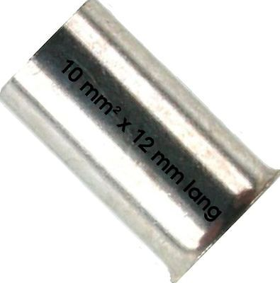 Klauke Wire Ferrules 10 mm ² x 12 Lang End 10x12