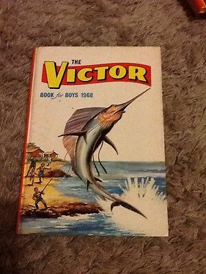 """""""The Victor Book for Boys 1968"""" Comic Annual from 49 years ago"""