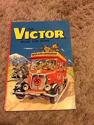 The Victor Book For Boys Annual 1973 - Very Fine/near Mint